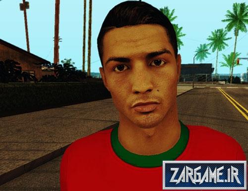 دانلود اسکین HD کریستیانو رونالدو برای GTA 5