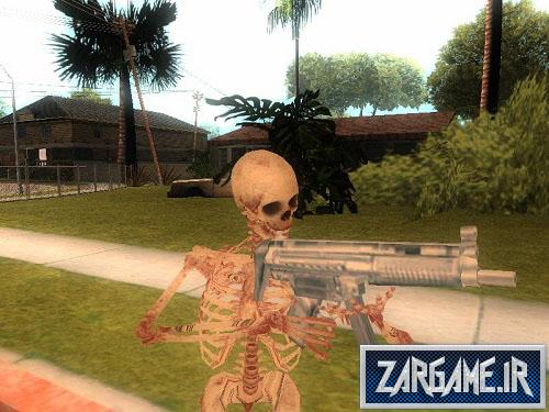 دانلود اسکین اسکلت برای GTA 5