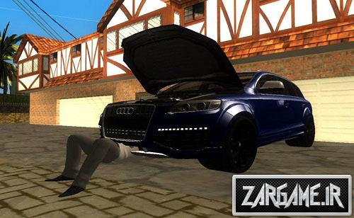 دانلود مود تعمیر ماشین توسط CJ برای GTA 5