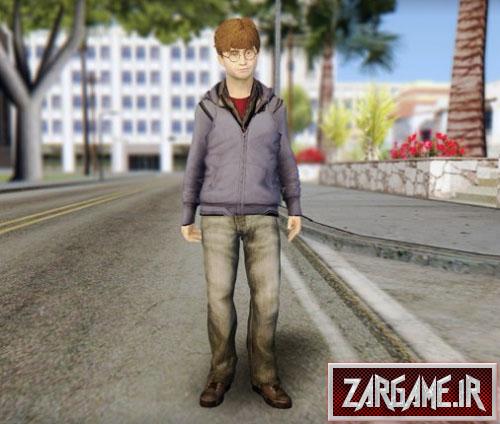 دانلود اسکین هری پاتر برای GTA 5