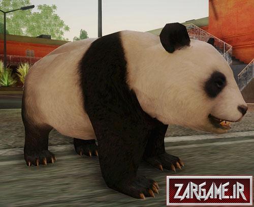 دانلود اسکین پاندا برای (GTA 5 (SanAndreas