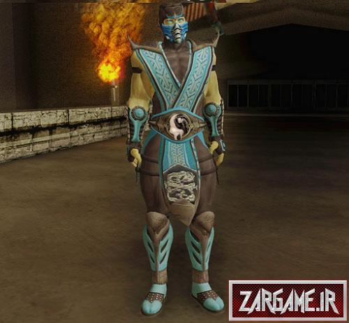 اسکین شخصیت ساب زیرو در مرتال کامبت برای GTA 5