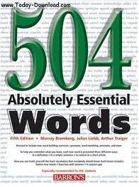 کتاب 504 کلمه کاربردي زبان انگليسي به همراه ترجمه ی فارسی برای دانشجویان