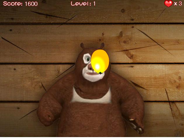 بازی انلاین خرس داغون