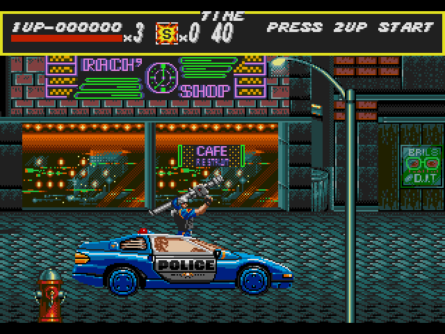 بازی شورش در شهر سگا