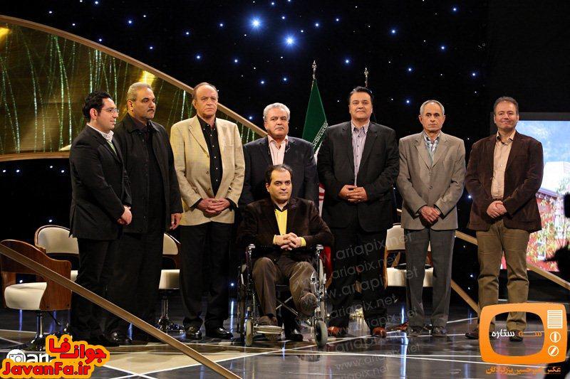 عکسهای قسمت اول برنامه سه ستاره با حضور مجریان ورزشی