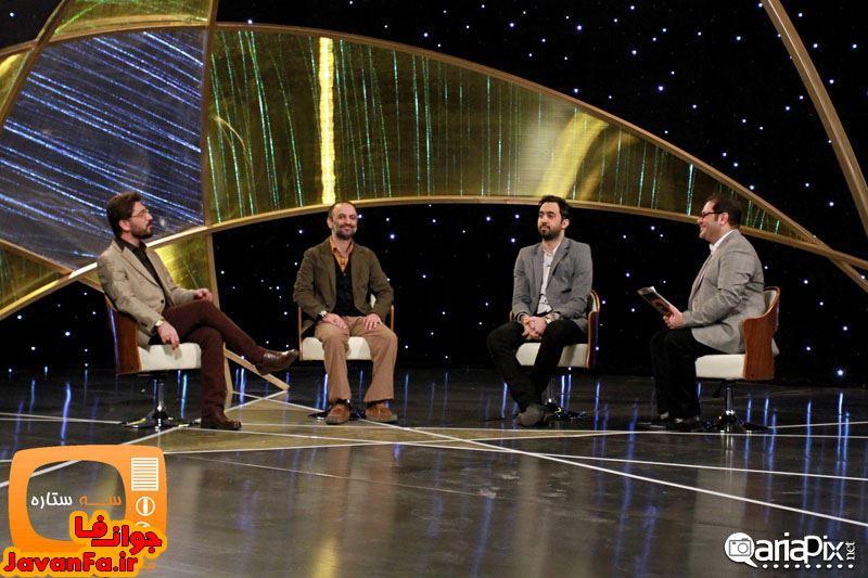عکسهای حضور خوانندگان و اهالی موسیقی در برنامه سه ستاره