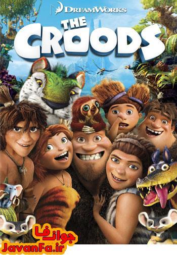 دانلود دوبله فارسی گلوری انیمیشن غارنشینان – The Croods 2013