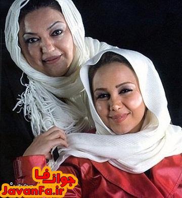 عکس بهنوش بختیاری در کنار مادر و خواهرش