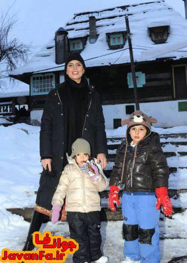عکس جدید لیلا حاتمی در کنار فرزندانش