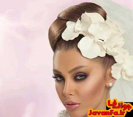 مدل های جدید موی عروس سال ۹۳