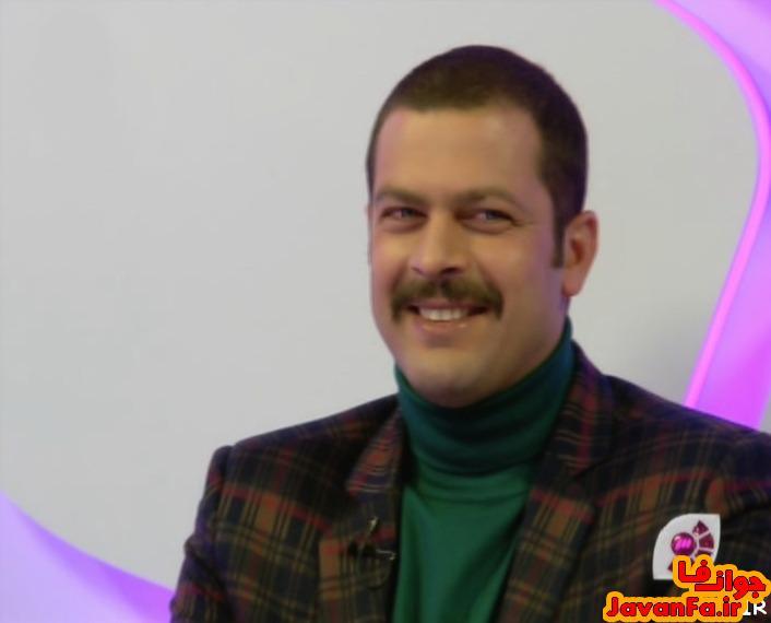 عکس های پژمان بازغی در برنامه سینما گلخانه