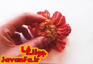 روبان دوزی گل رز روی گیف زنانه دخترانه