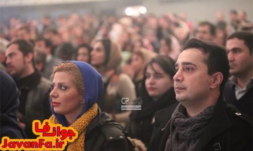 عکس جدید سپند امیرسلیمانی و همسرش
