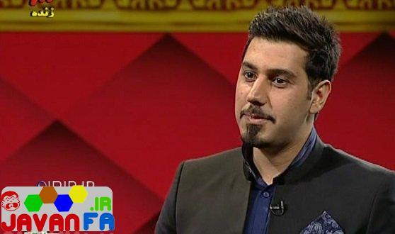 عکس حضور احسان خواجه امیری در برنامه سه ستاره