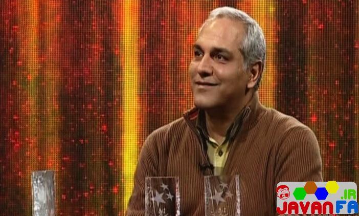 عکس مهران مدیری در برنامه تحویل سال شبکه سه سه ستاره
