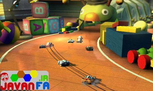 دانلود بازی سبک ماشین سواری Super Toy Cars برای کامپیوتر