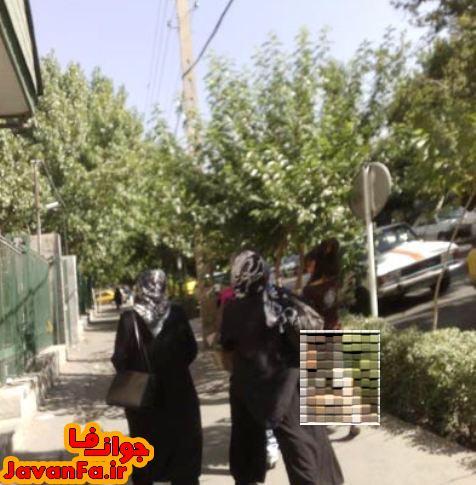 عکس بی حجاب ترین دختر تهران(ایران)