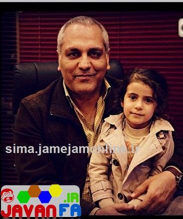 عکس جدید دختر جواد رضویان در کنار مهران مدیری