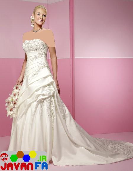 مدل لباس عروس جدید خيلي شيك 93