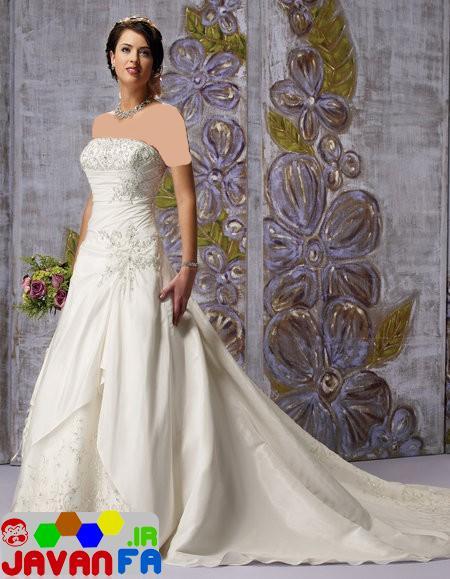 لباس عروسي جديد