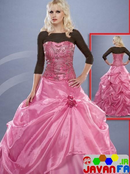 مدل و طرح های جدید لباس عروس اروپایی 93