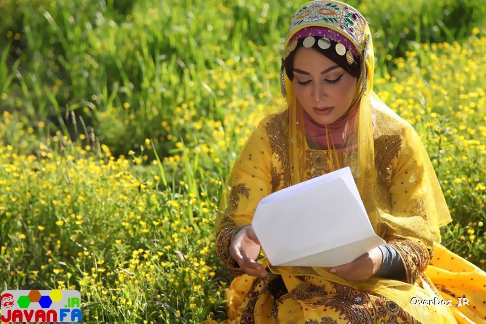 عکس های جدید فقیهه سلطانی با لباس محلی