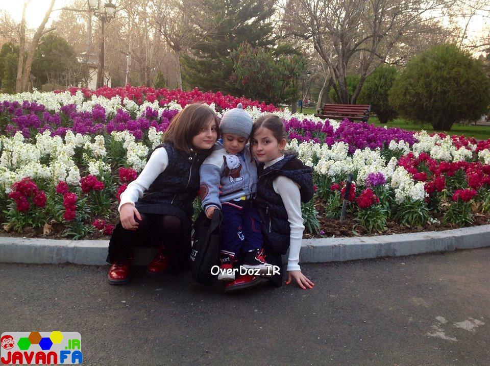 عکس های جدید سارا و نیکا سریال پایتخت فروردین ماه ۹۳