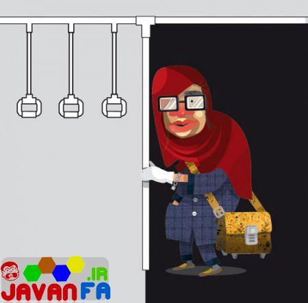 عکسهای لو رفته از دختران تهرانی در مترو