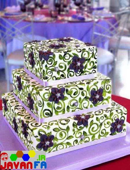 مدل های جدید و شیک کیک عروسی 93