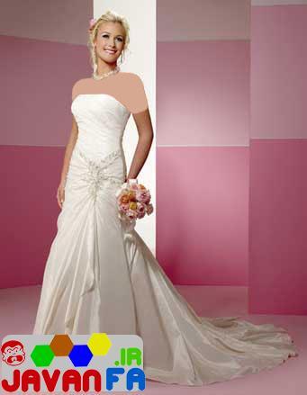 جدیدترین مدل های شیک لباس عروس ۲۰۱۴ بهار93