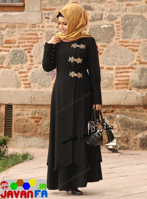 مدل مانتو جدید با پوشش اسلامی 93