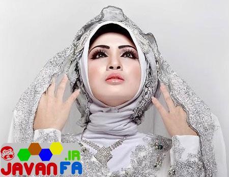 مدل جدید تور عروس با حجاب و محجبه 93
