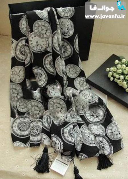 مدل شال و روسری شیک بهار ۹۳