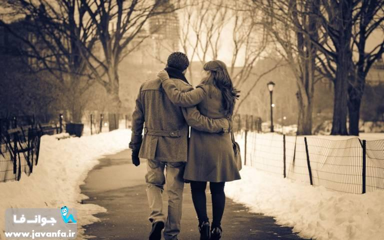 عکس های جدید عاشقانه دونفره بغل کردن و بوسه