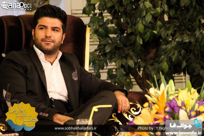 عکس های حدیث میرامینی امیرمحمد زند مجید خراطها در برنامه صبح خلیج فارس