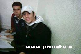 عکس امیر تتلو در دبیرستان