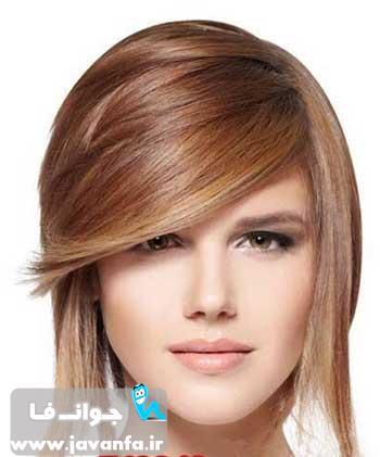 جدیدترین رنگ مو و مدل مو سال 93 - 2014