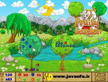 دانلود بازی کم حجم باغ میوه برای کامپیوتر