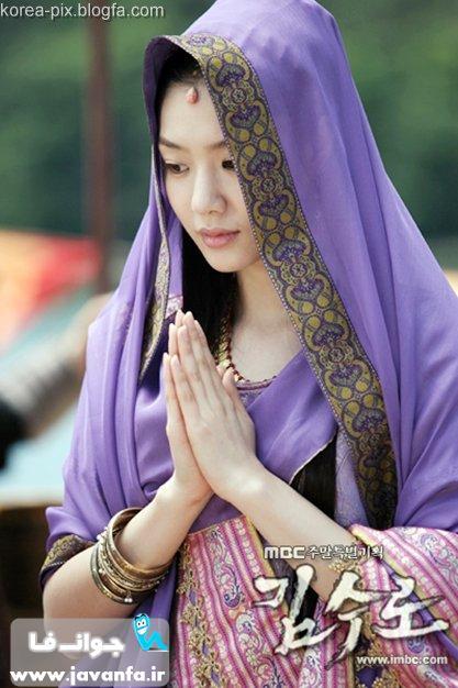 عکس های Seo Ji-Hye بازیگر نقش Heo Hwang-Ok در سریال سرزمین آهن