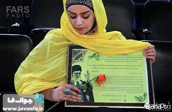 عکس های الهام چرخنده بازیگر زن در جشن فرهنگ و هنر انقلاب / اردیبهشت ماه ۱۳۹۳