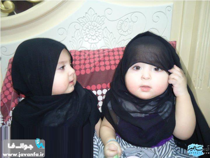دختران با حجاب به اینا میگن - عکس