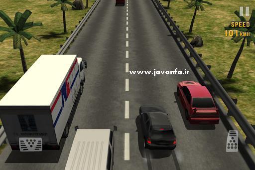 دانلود بازی مسابقه ماشینسواری بی پایان اندروید Traffic Racer