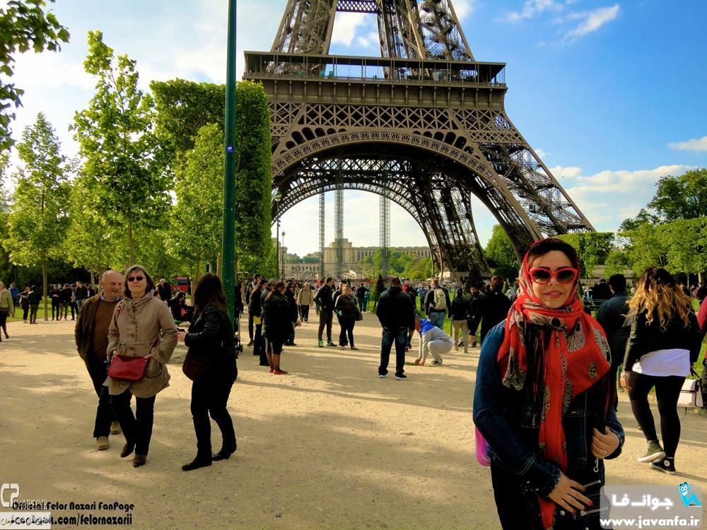 عکس های جدید 93 فلور نظری در پاریس