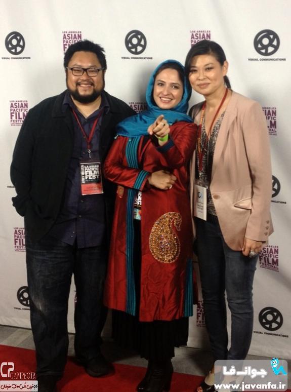 عکس های جدید گلاره عباسی در جشنواره فیلم آسیاپاسیفیک لس آنجلس