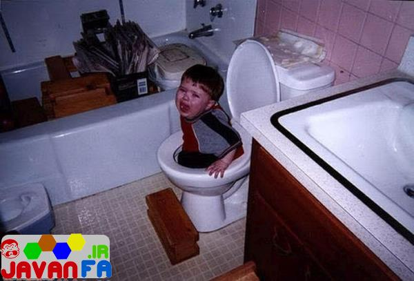 عکس های خنده دار از بچه های شیطون 93