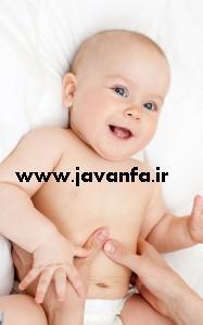 چگونگی رفع دل درد نوزادان