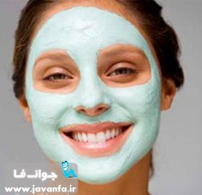 آموزش ساخت ماسک از بین برنده لکه صورت و گردن