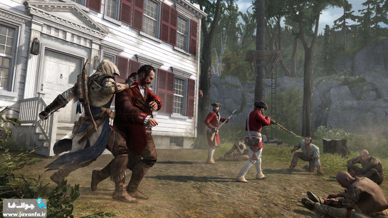 دانلود بازی Assassins creed 3 برای کامپیوتر