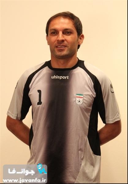عکس های بازیکنان تیم ملی فوتبال با شماره پیراهن های مشخص شده